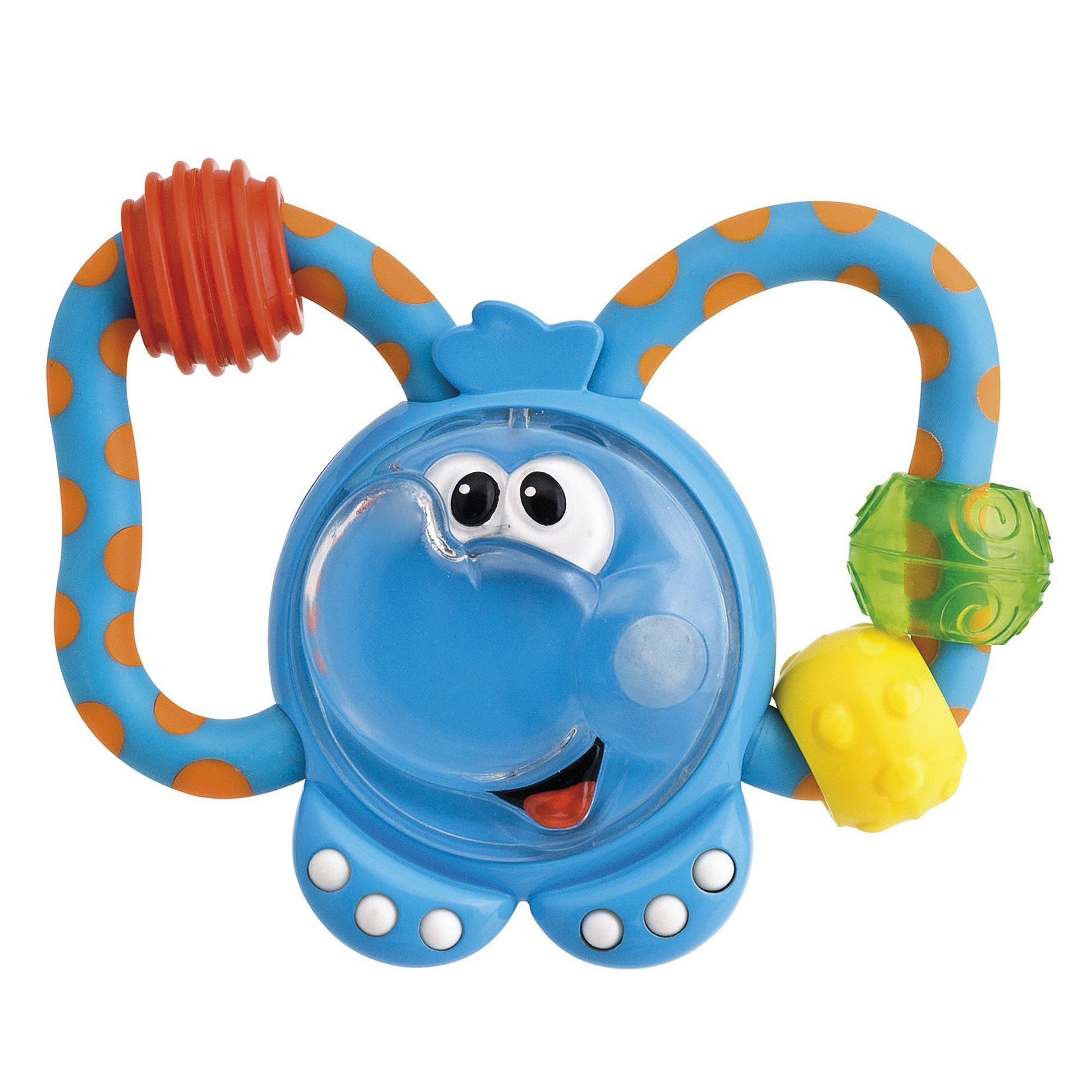 Погремушка с прорезывателем «Слоненок»Детские погремушки и подвесные игрушки на кроватку<br>Погремушка с прорезывателем «Слоненок»<br>