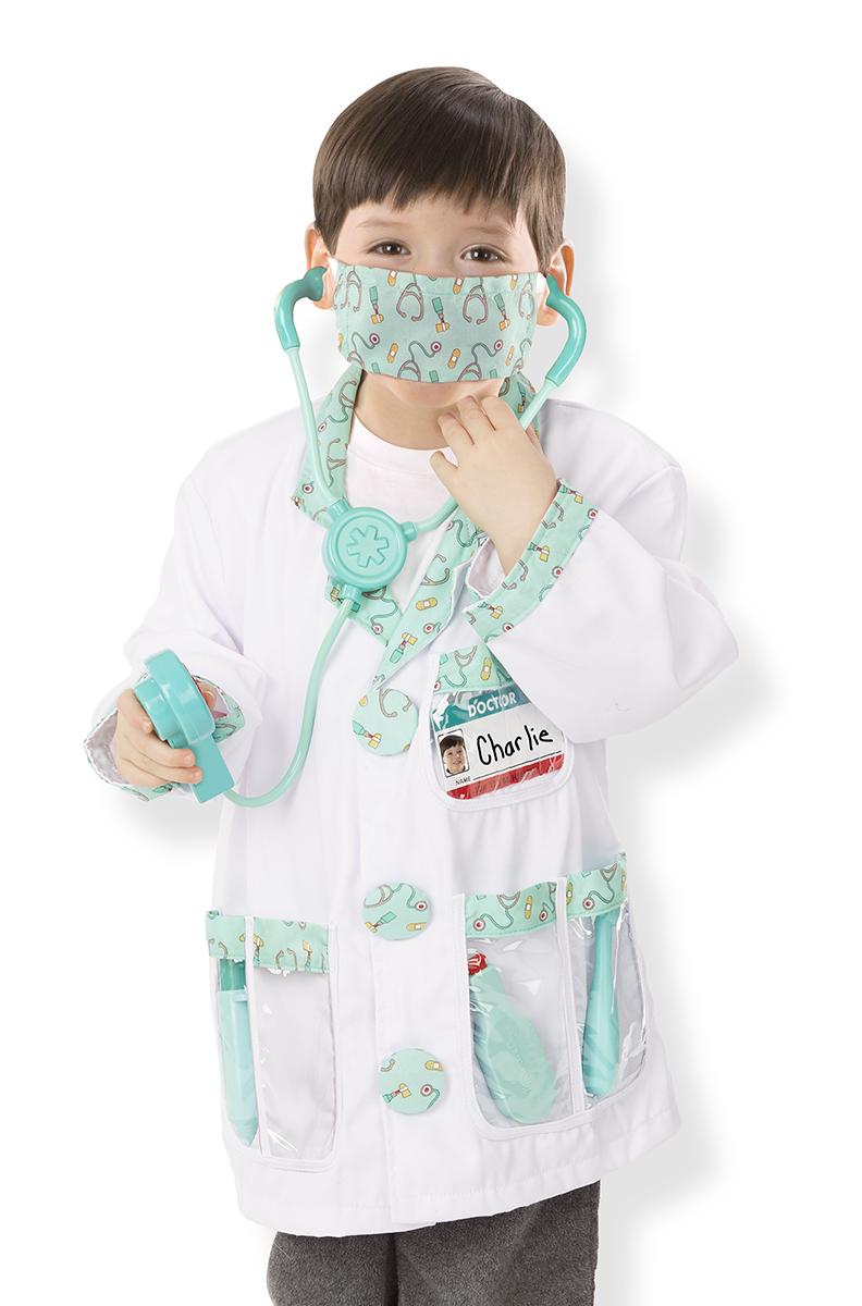 Костюм Доктора для карнавала и тематических игрНаборы доктора детские<br>Костюм Доктора для карнавала и тематических игр<br>