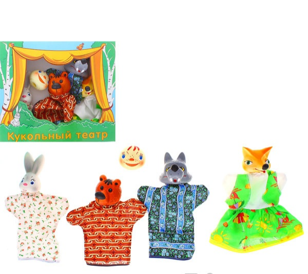 Кукольный театр – Колобок - Детский кукольный театр , артикул: 149467