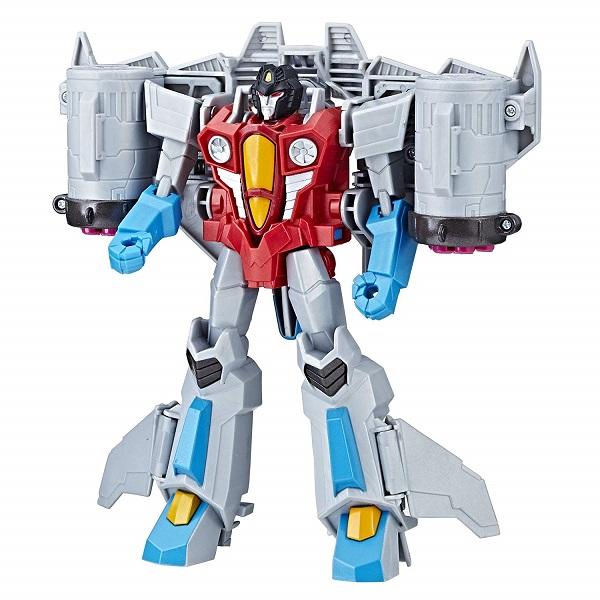 Трансформер Starscream, класс Ultra, серия Transformers Cyberverse Трансформеры-Кибервселенная