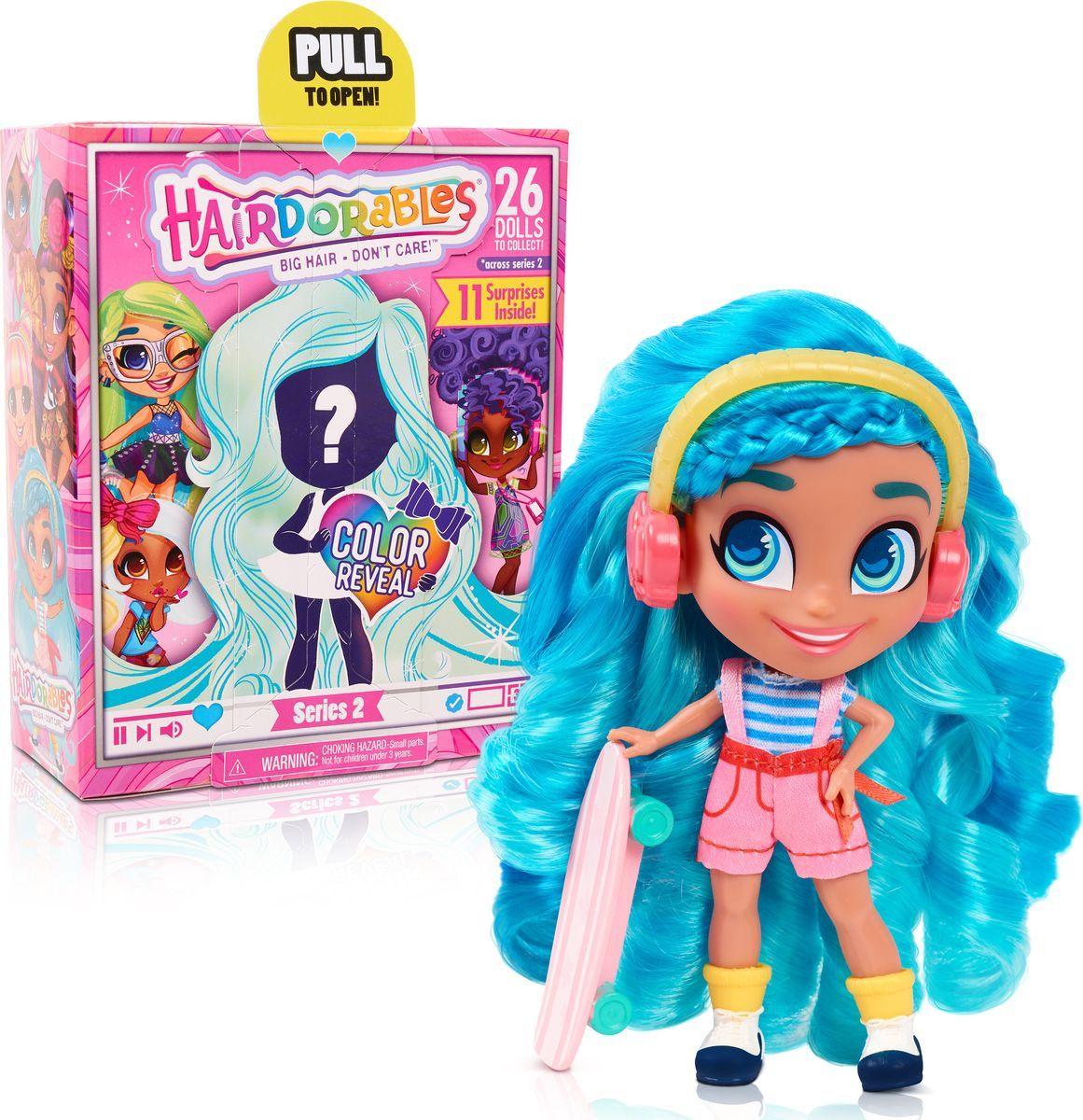 Hairdorables. Кукла-загадка Модные образы.