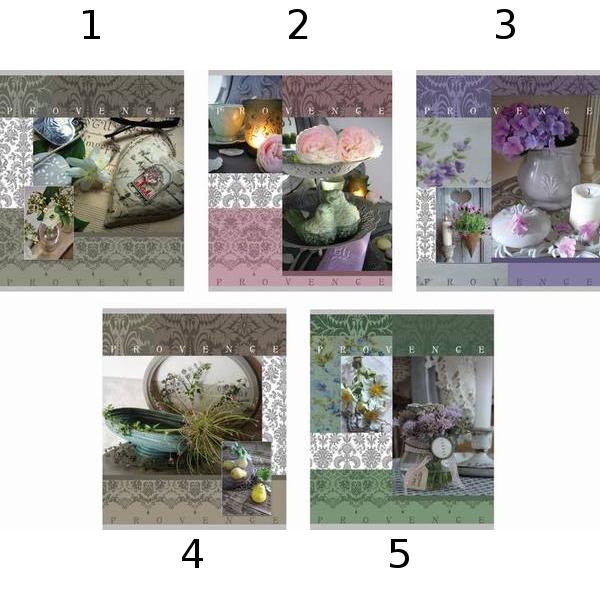 Тетрадь 96 листов Клетка «Provence», Полиграфика  - купить со скидкой