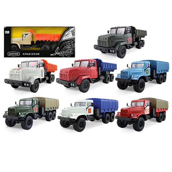 Машина КрАЗ-255Б из коллекции - Imperial Truck Series №2, 1:43Грузовики/самосвалы<br>Машина КрАЗ-255Б из коллекции - Imperial Truck Series №2, 1:43<br>