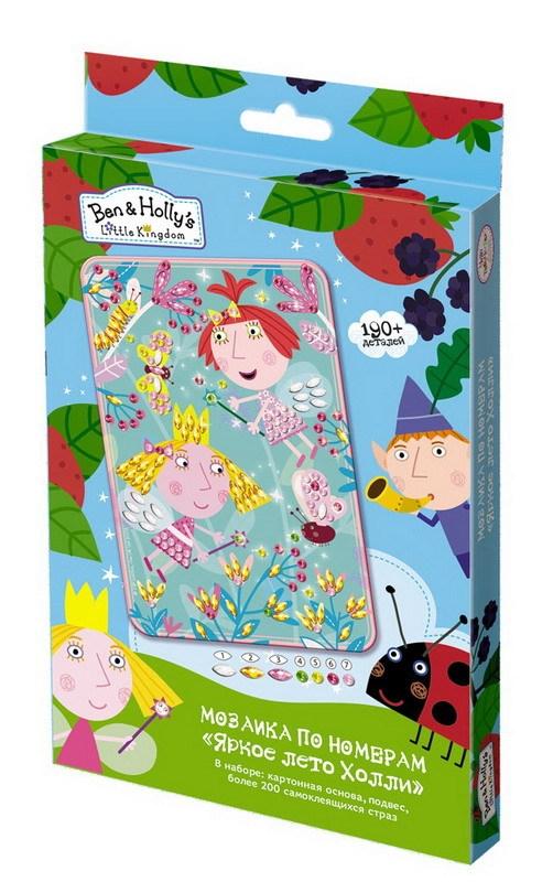 Мозаика из серии Ben &amp; Holly - Яркое лето ХоллиАппликация, пайетки<br>Мозаика из серии Ben &amp; Holly - Яркое лето Холли<br>