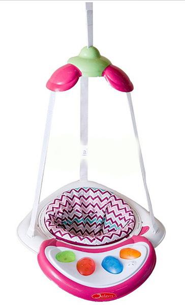 Прыгунки Air Jumper, Raspberry Stripe - Играем и развиваемся, артикул: 159459