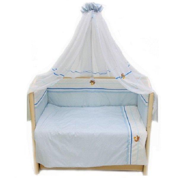 Комплект постельных принадлежностей – Пиратик, 7 предметовДетское постельное белье<br>Комплект постельных принадлежностей – Пиратик, 7 предметов<br>