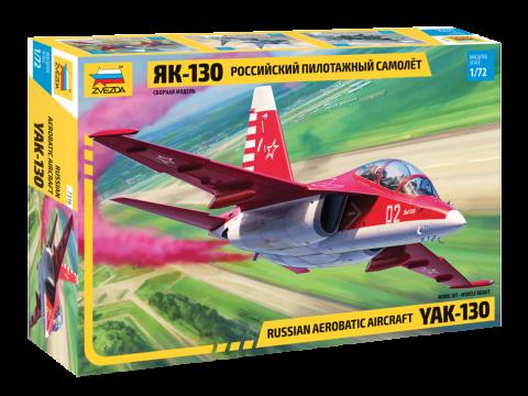 Сборная модель - Российский пилотажный самолет Як-130 фото