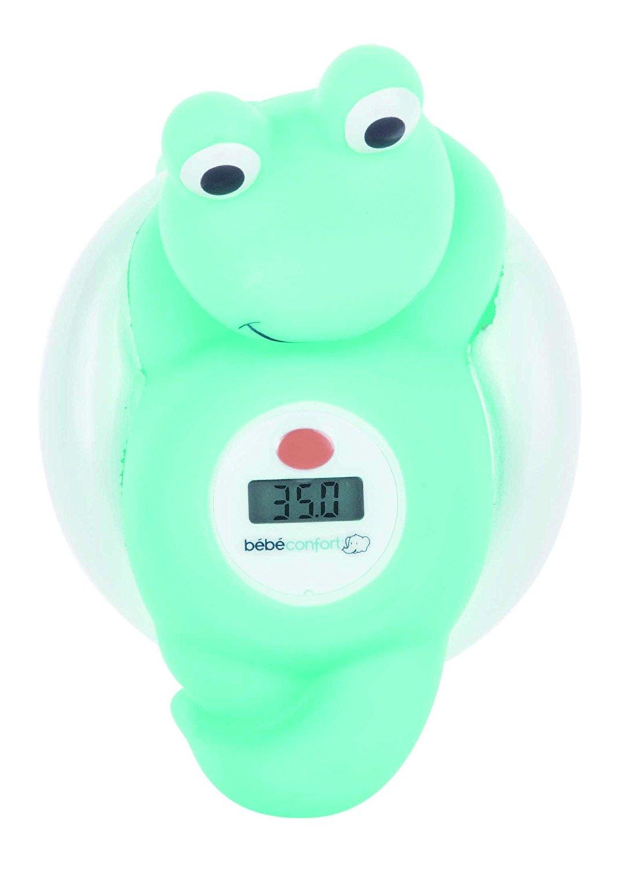 Электронный термометр для измерения температуры воды в ванной – Лягушонок, голубойАксессуары для купания<br>Электронный термометр для измерения температуры воды в ванной – Лягушонок, голубой<br>