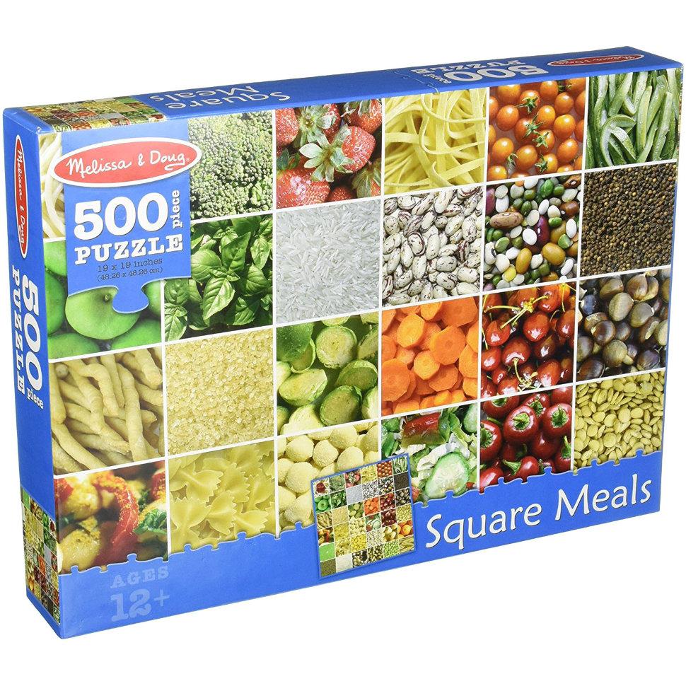 Пазл Продукты, 500 элементовПазлы 500 элементов<br>Пазл Продукты, 500 элементов<br>