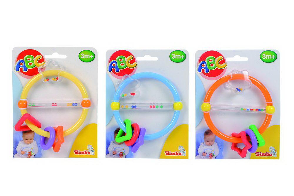 Игрушка 2 в 1 – Погремушка-прорезыватель, 3 видаДетские погремушки и подвесные игрушки на кроватку<br>Игрушка 2 в 1 – Погремушка-прорезыватель, 3 вида<br>