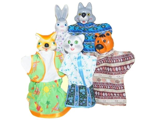 Кукольный театр  Кот и лиса - Детский кукольный театр , артикул: 149468