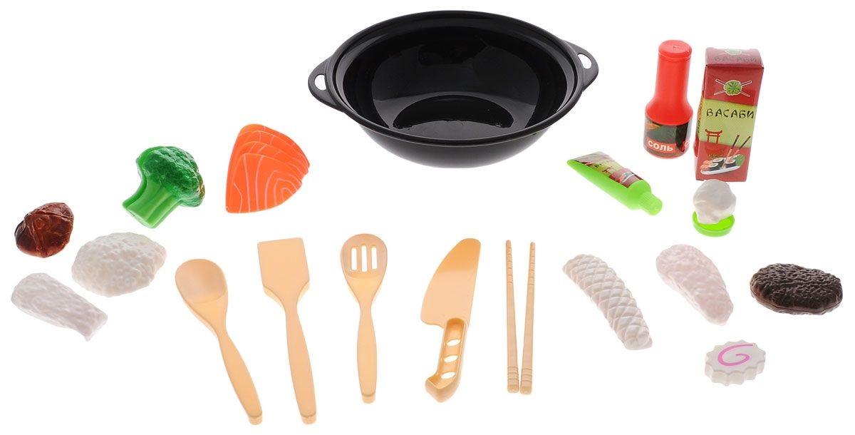 Купить Набор продуктов для вок «Помогаю Маме», 21 предмет, ABtoys