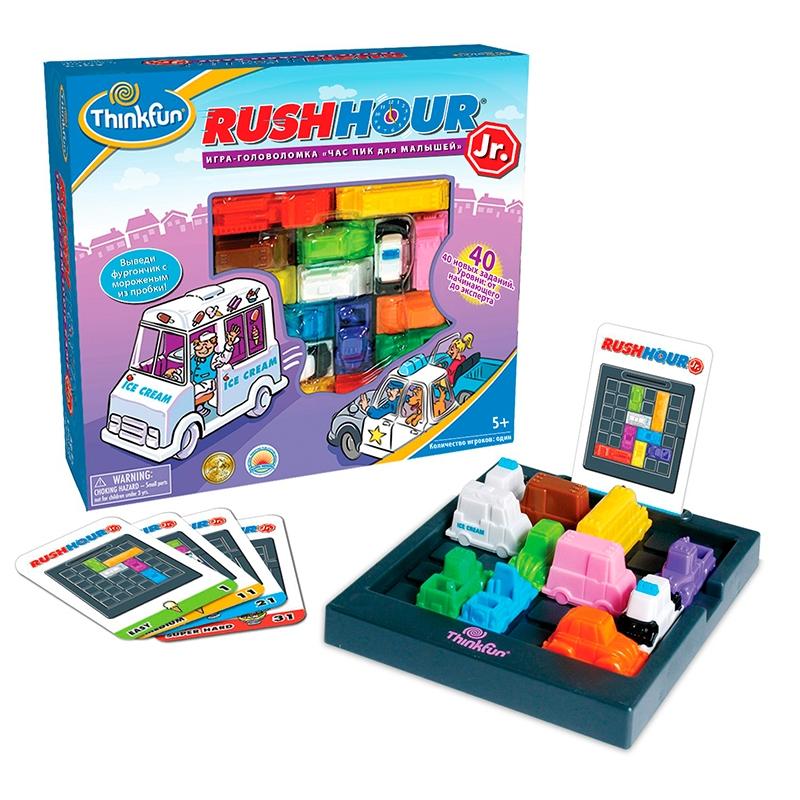 Игра-головоломка Час Пик, для малышейГоловоломки<br>Игра-головоломка Час Пик, для малышей<br>