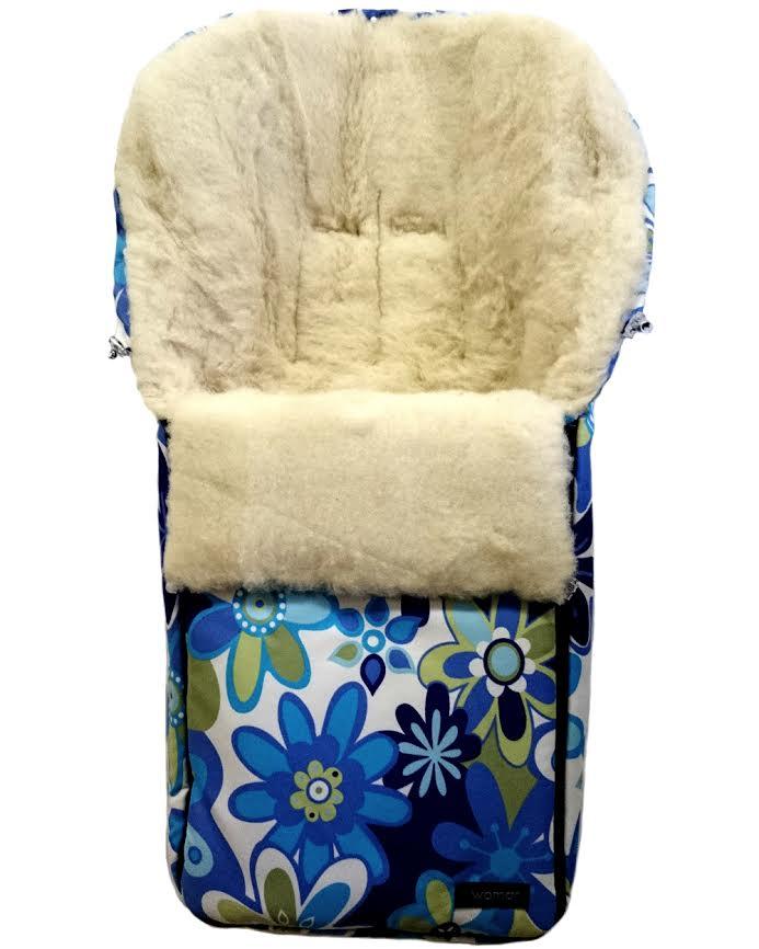 Спальный мешок в коляску №06 Aurora, цвет – 15 цветки