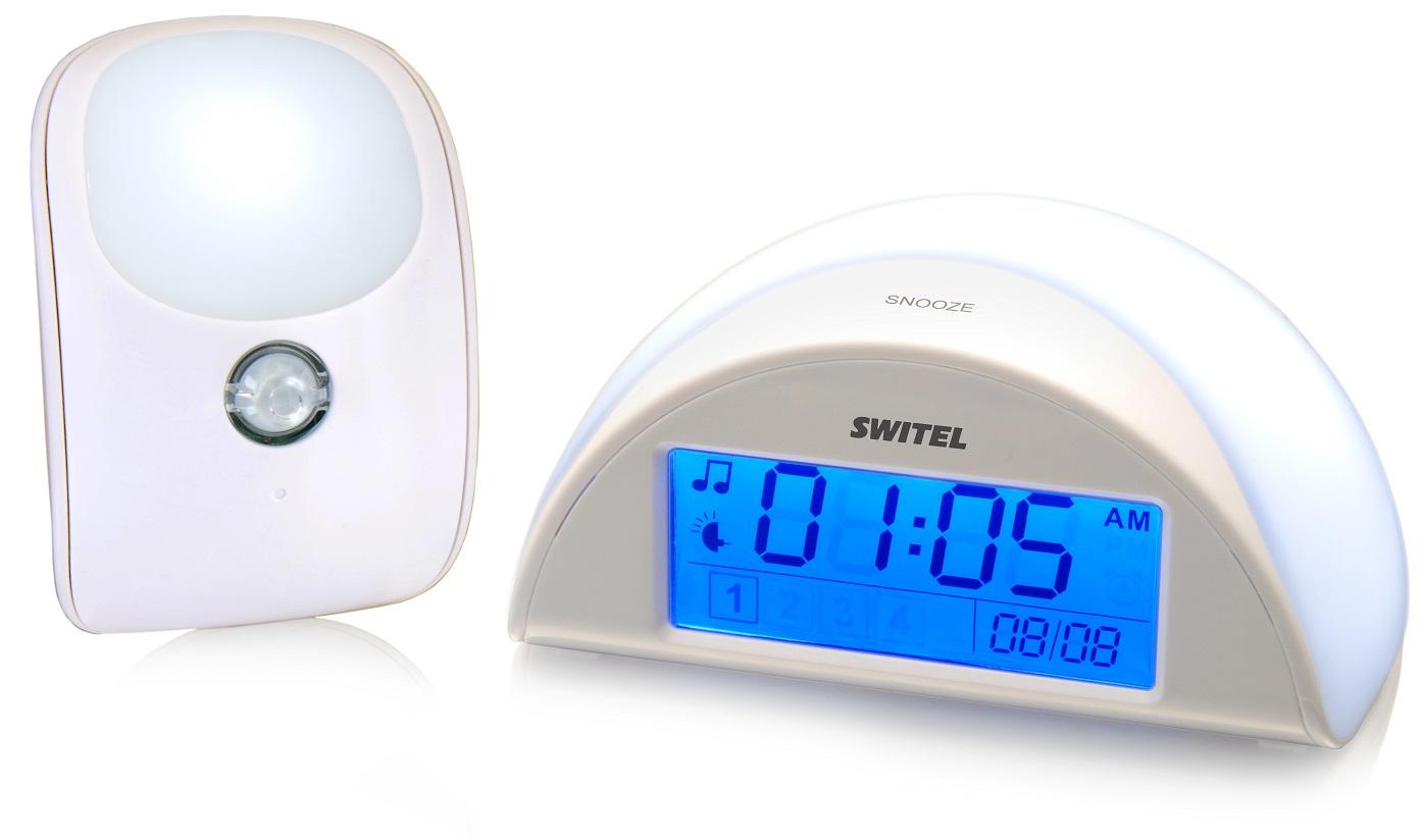 Купить Автоматический детский ночник с функцией радионяни Switel BC110