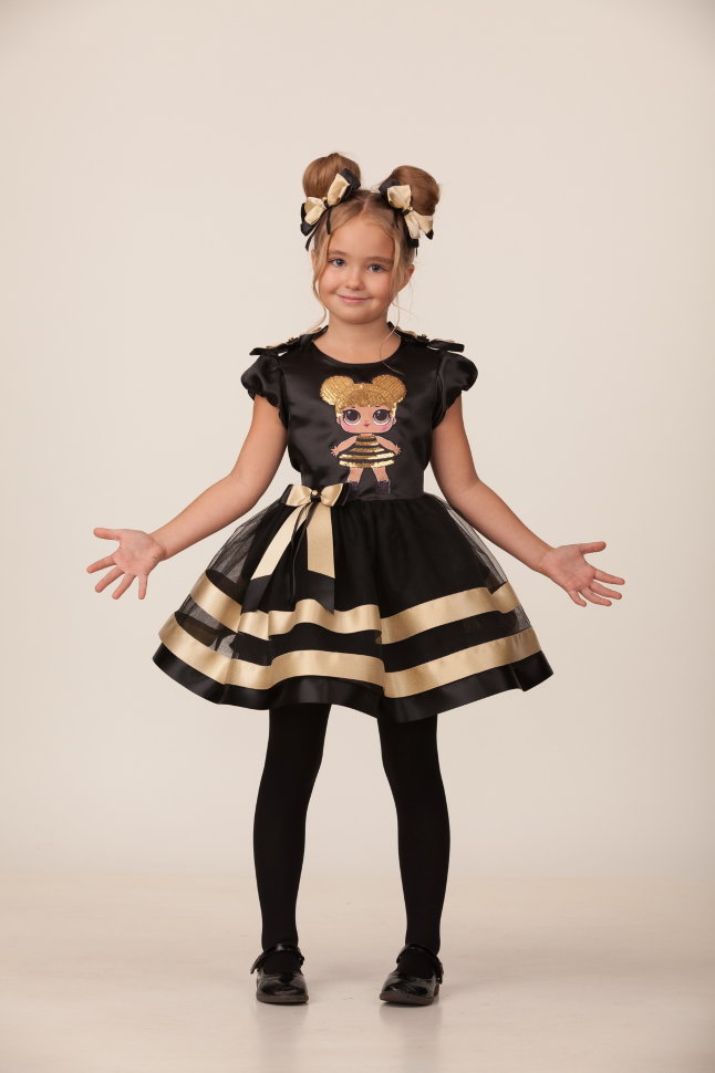 Карнавальный костюм для девочек – Золотая пчелка, размер 110-56