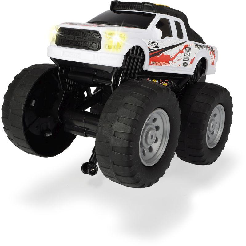 Купить Рейсинговый монстр-трак Ford Raptor, моторизированный, свет, звук, 25, 5 см, Dickie Toys