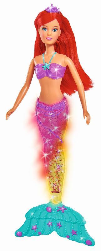 Кукла Штеффи-русалка с магическим хвостом, свет, 34 см.Куклы Steffi (Штеффи)<br>Кукла Штеффи-русалка с магическим хвостом, свет, 34 см.<br>