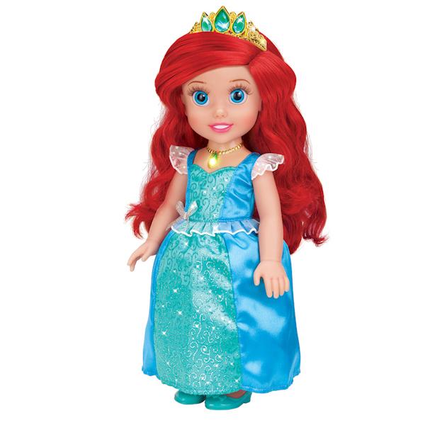 Кукла принцесса Ариэль, 37 см., озвученная, амулет светитсяАриэль<br>Кукла принцесса Ариэль, 37 см., озвученная, амулет светится<br>