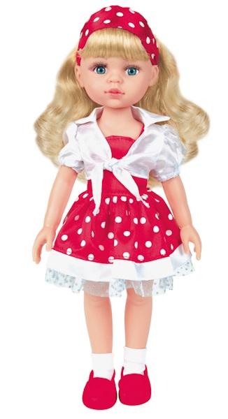 Озвученная кукла, 32 см, 100 фразКуклы Карапуз<br>Озвученная кукла, 32 см, 100 фраз<br>