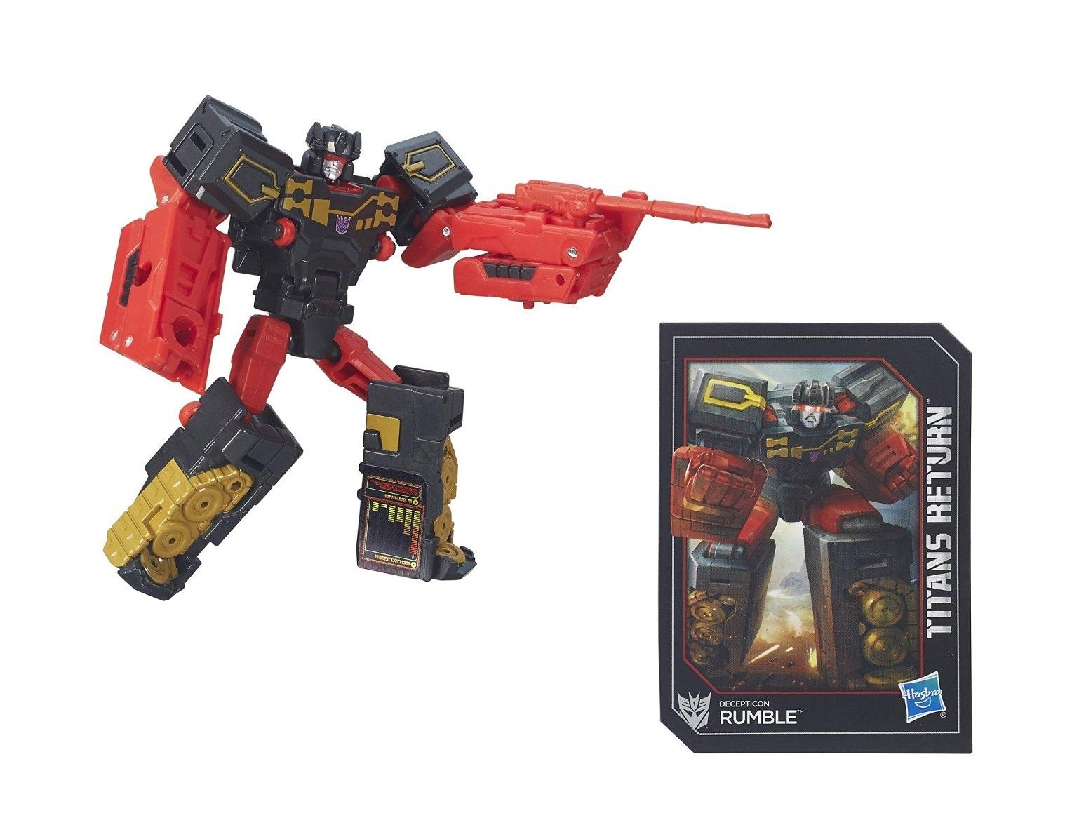 Трансформер - Дженерэйшнс: Войны Титанов Лэджендс - RumbleИгрушки трансформеры<br>Трансформер - Дженерэйшнс: Войны Титанов Лэджендс - Rumble<br>