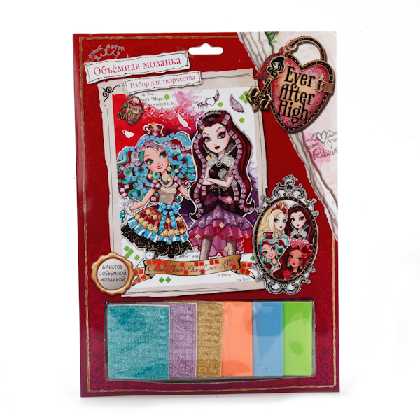 Объемная мозаика «Ever After High», А4Куклы Ever After High и Monster High<br>Объемная мозаика «Ever After High», А4<br>