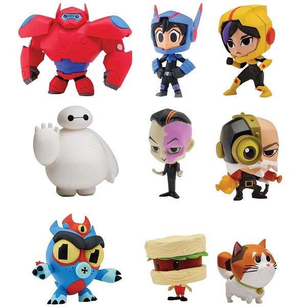 Купить Микрофигурки из серии Big Hero 6, 3-5 см., несколько видов, Bandai