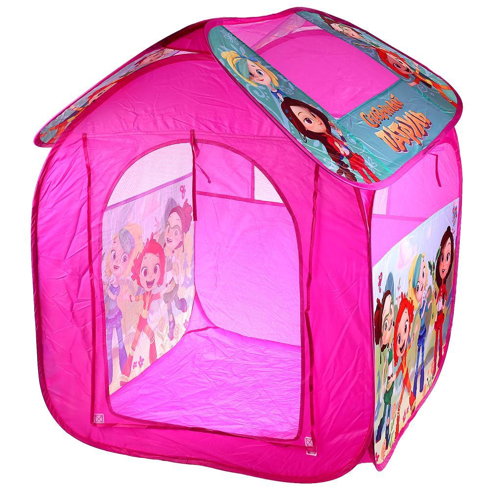 Купить Палатка детская игровая - Сказочный патруль, в сумке, Играем вместе
