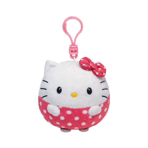 Брелок Beanie Ballz – Hello KittyИгрушки Hello Kitty<br>Брелок Beanie Ballz – Hello Kitty<br>