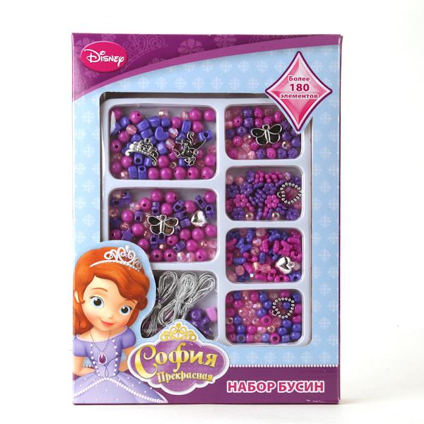 Набор бусин Disney София, более 180 деталей от Toyway