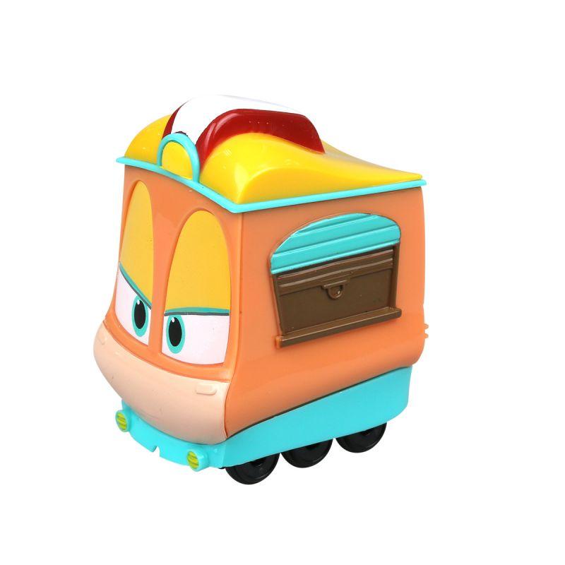 Игрушечный паровозик Роботы-поезда - ДжейниЖелезная дорога для малышей<br>Игрушечный паровозик Роботы-поезда - Джейни<br>