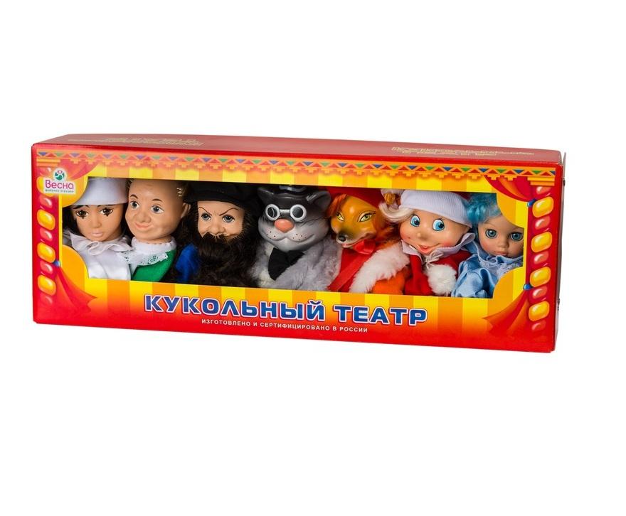 Набор - кукольный театр по сказкам №1Детский кукольный театр <br>Набор - кукольный театр по сказкам №1<br>