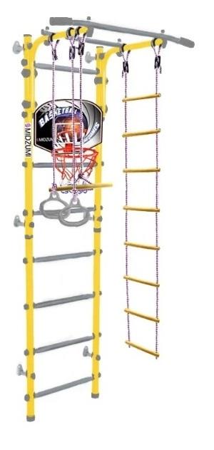 Шведская стенка Midzumi Banji Basketball Shield, цвет - лимонный пай фото