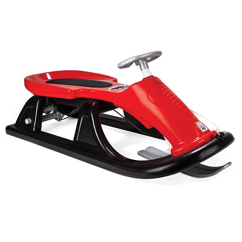 Снегокат с рулем и тормозом  Super Sledge - Зимние товары, артикул: 160333