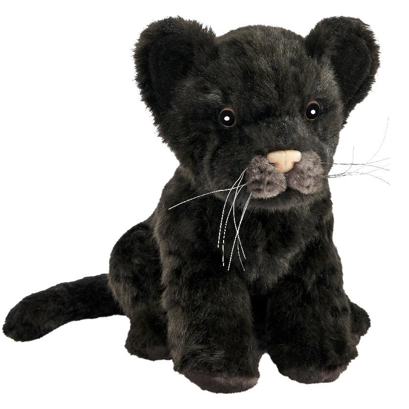 Мягкая игрушка - Детеныш ягуара черный, 17 см.Дикие животные<br>Мягкая игрушка - Детеныш ягуара черный, 17 см.<br>
