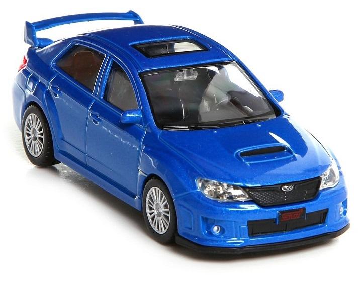 Купить Металлическая машина RMZ City - Subaru WRX STI, 1:43