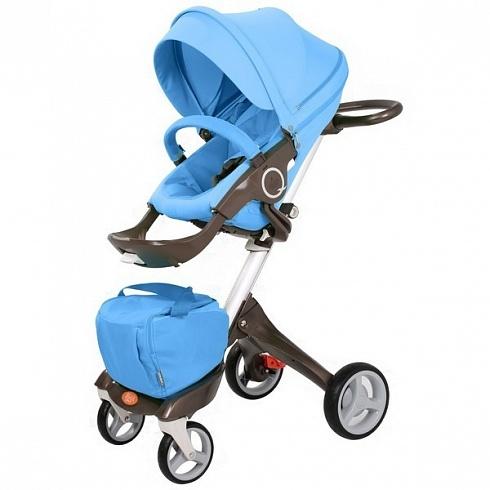 Детская коляска 2 в 1 - Nuovita Sogno, синяя