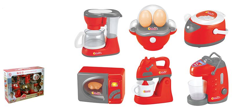 Купить Кухонная техника из серии Помогаю Маме, с аксессуарами, световыми и звуковыми эффектами ), ABtoys