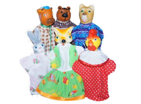Кукольный театр  Зайкина избушка - Детский кукольный театр , артикул: 151604