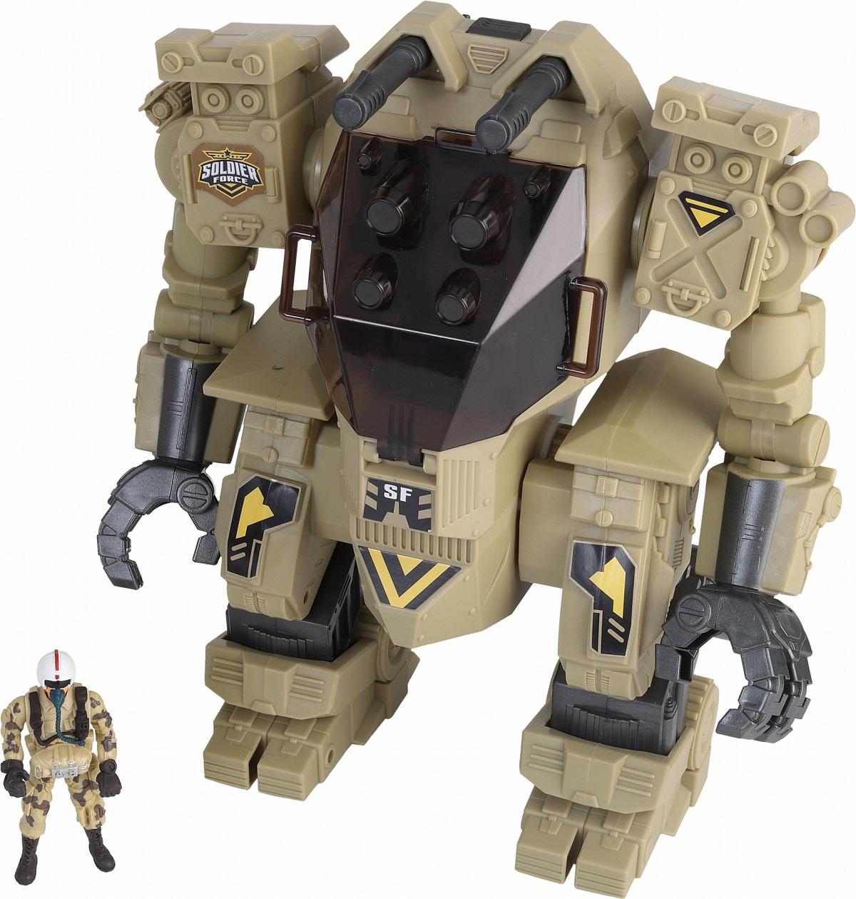 Купить Игровой набор - Робот с фигуркой пилота, Chap Mei