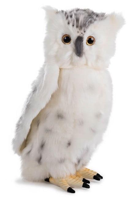 Мягкая игрушка - Сова белая, 30 см.Дикие животные<br>Мягкая игрушка - Сова белая, 30 см.<br>