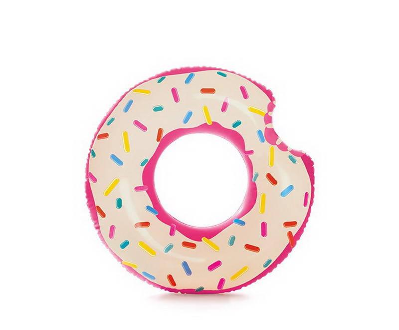 Круг надувной – Пончик, 9+ фото