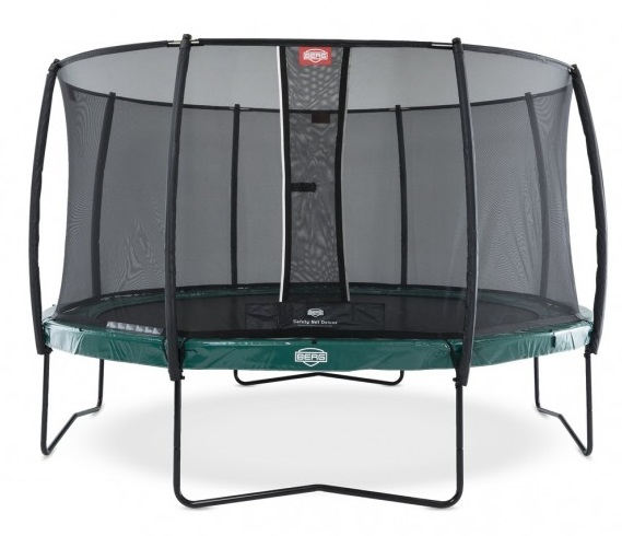 Батут Berg Elite Green 330 с сеткой Deluxe