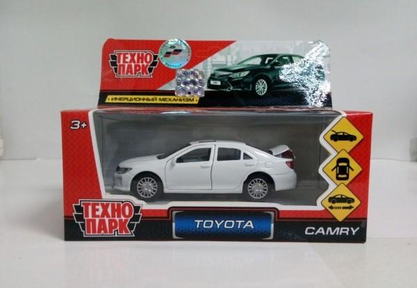 Купить со скидкой Инерционная машинка – Toyota Camry. Металл, 12 см. Разные цвета