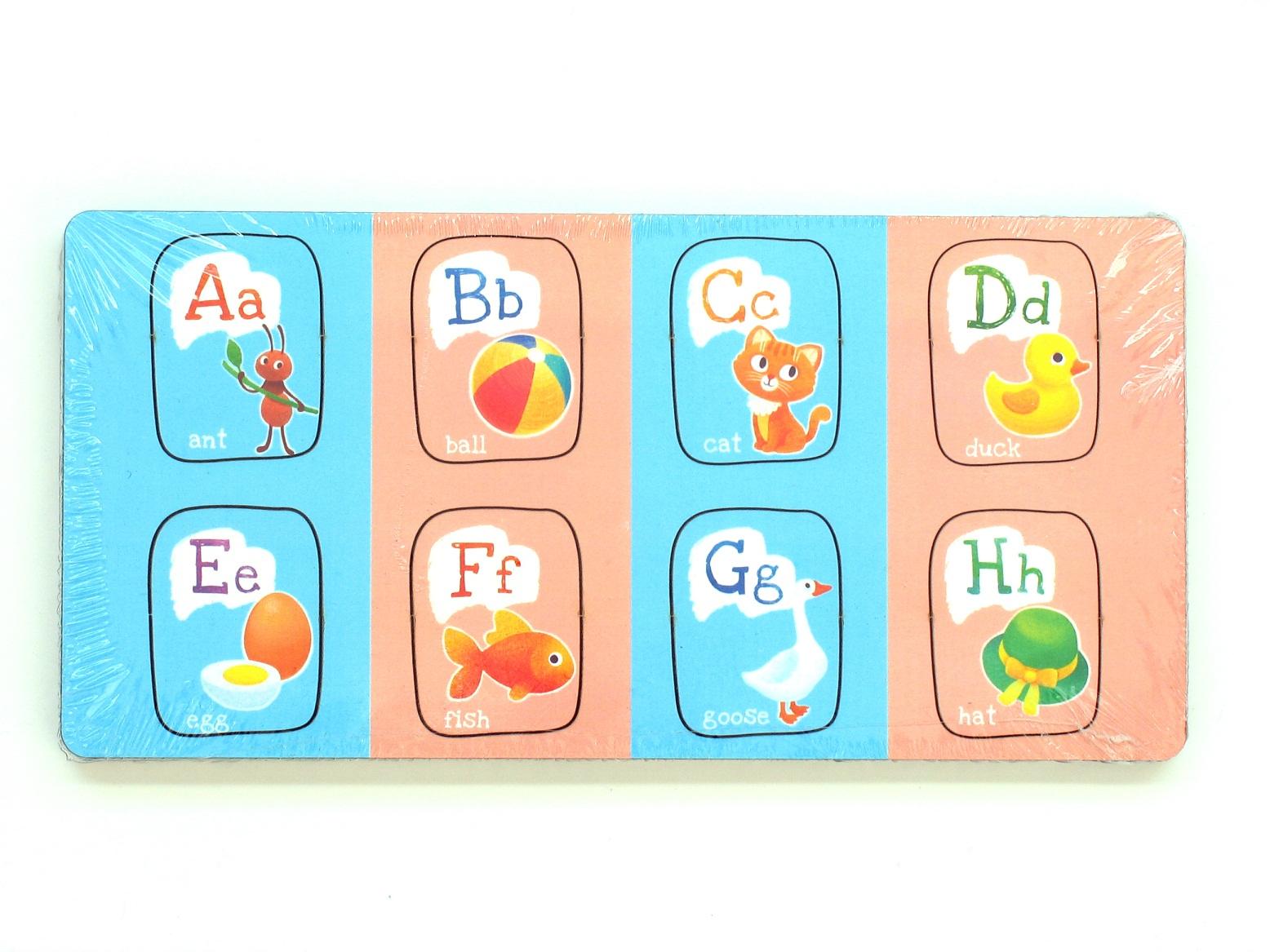 Вкладыши - Алфавит английский с картинками от Paremo ...