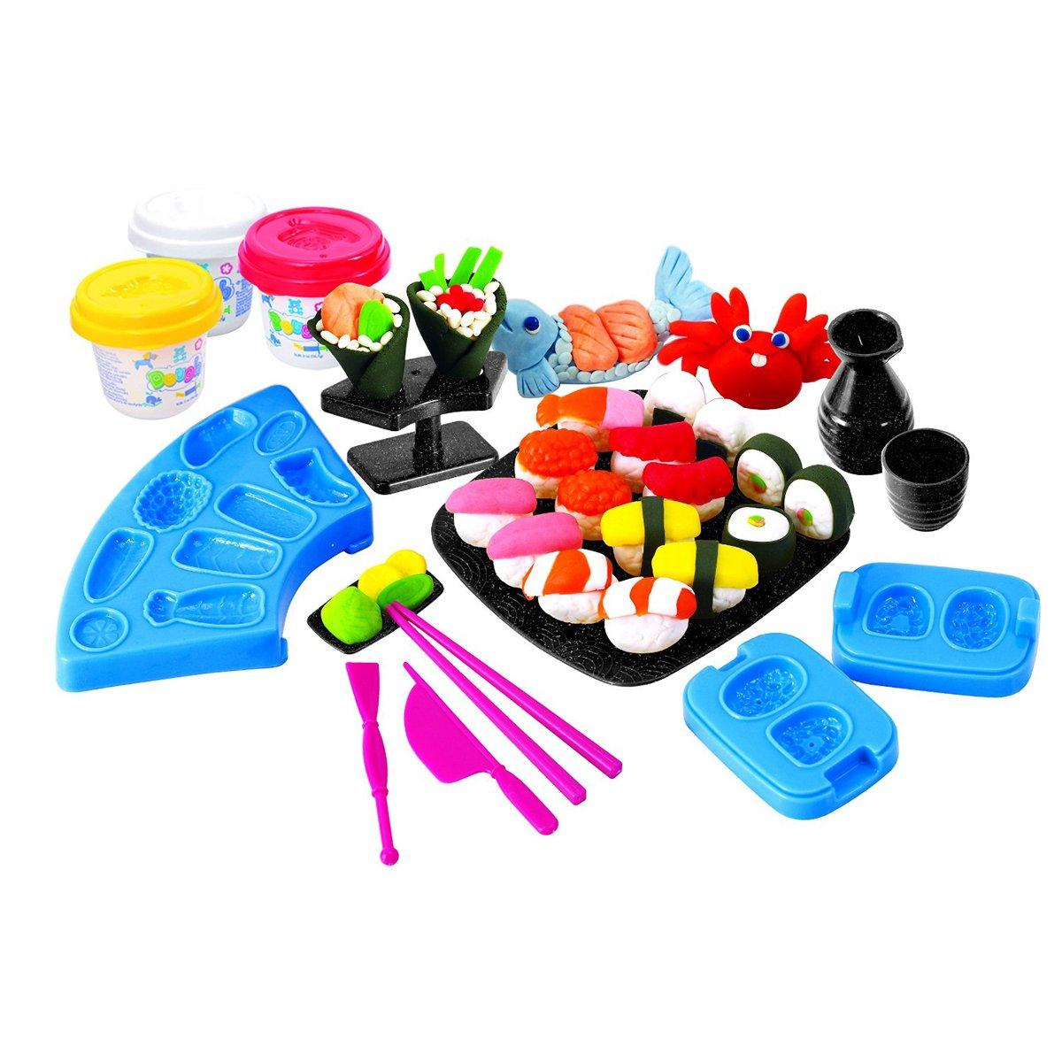 Набор с пластилином - Суши и роллыНаборы для лепки<br>Набор с пластилином - Суши и роллы<br>