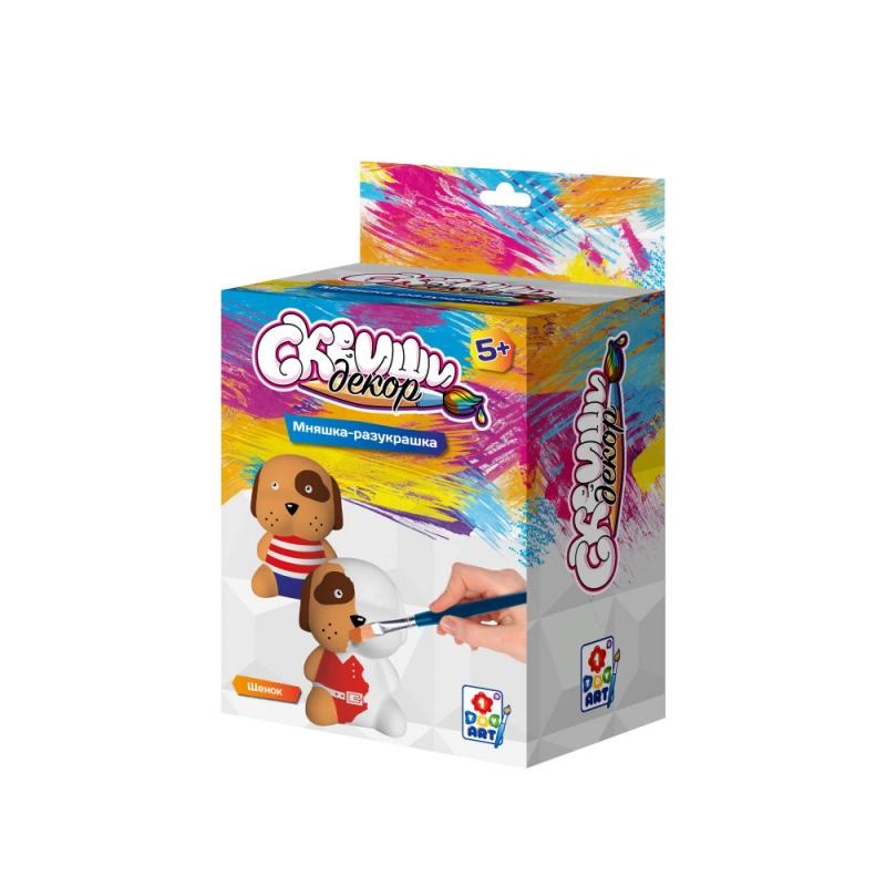 Купить Набор для детского творчества Сквиши декор - Щенок, 1TOY
