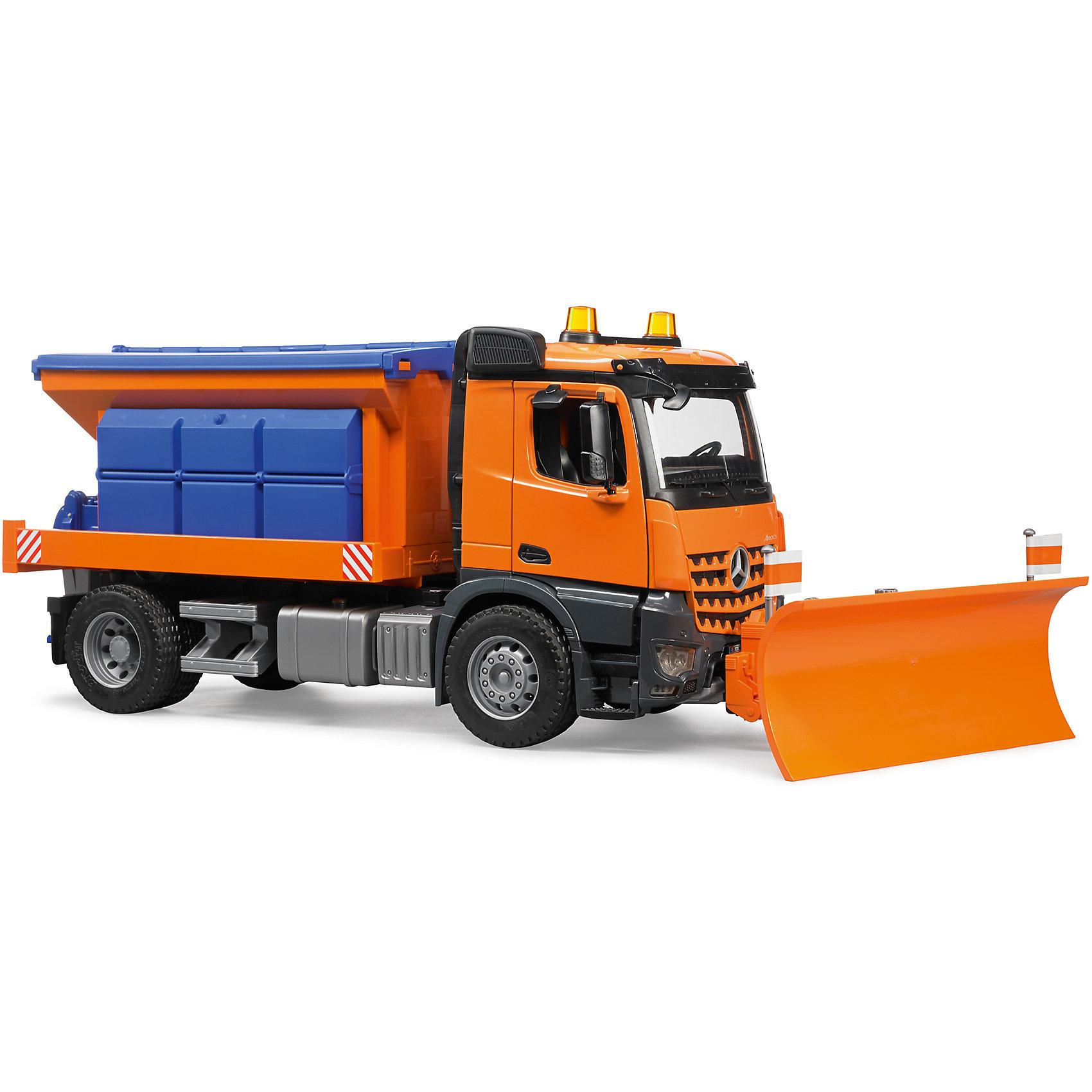 Снегоуборочная машина Bruder «MB Arocs»Снегоуборочная техника<br>Снегоуборочная машина Bruder «MB Arocs»<br>