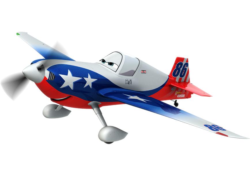 Planes Disney. Коллекционная модель самолета 86 LJH SPECIAL, металл - Самолеты Disney (Planes), артикул: 138378