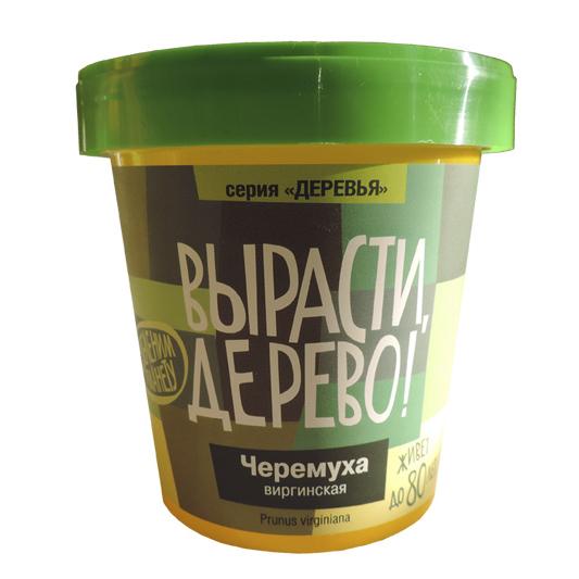 Набор для выращивания растений - Черемуха виргинскаяНаборы для выращивания растений<br>Набор для выращивания растений - Черемуха виргинская<br>